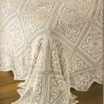 Örgü Battaniye Yatak Örtüsü