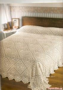 Örgü Battaniye Yatak Örtüsü 1