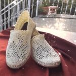 Örgü Dantel Ayakkabı Yapımı 1