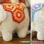 Örgü Fil Modelleri