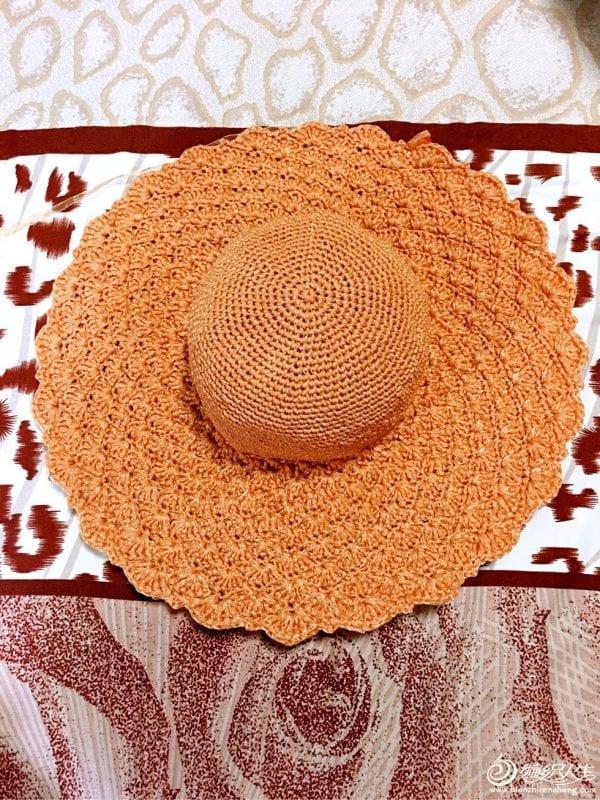 Örgü Fötr Şapka 1