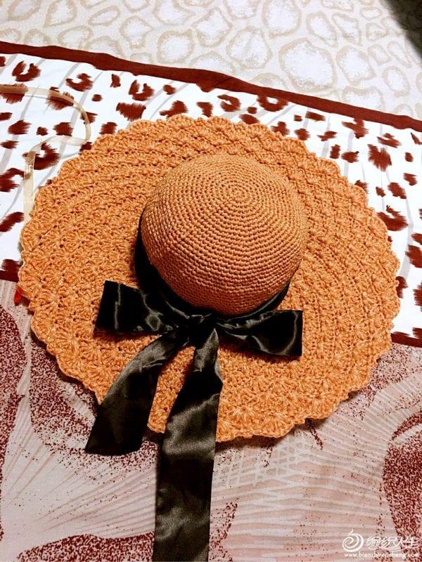 Örgü Fötr Şapka 3