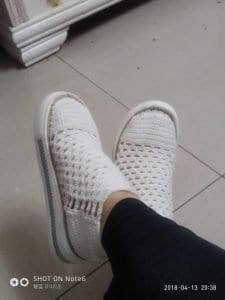 Yeni Örgü Ayakkabı Modelleri
