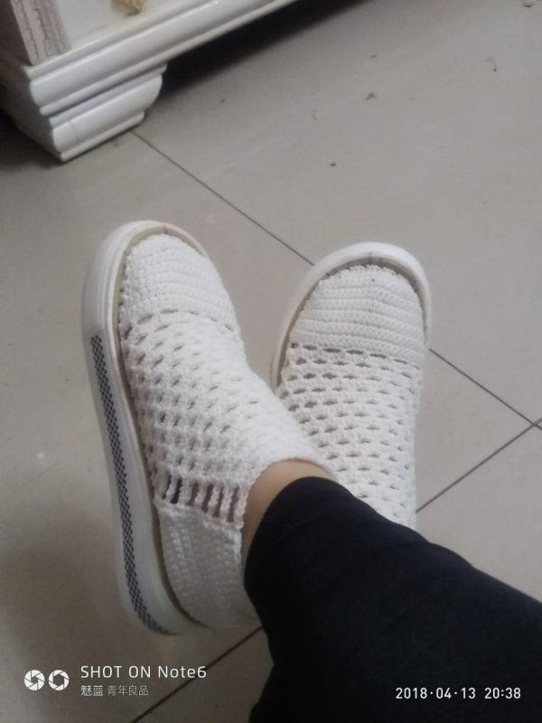 Yeni Örgü Ayakkabı Modelleri 1