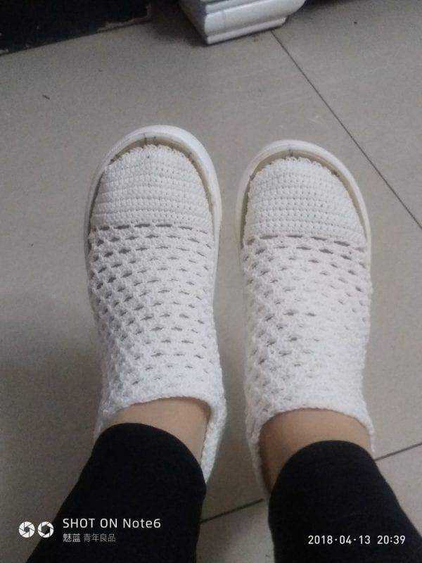 Yeni Örgü Ayakkabı Modelleri 3