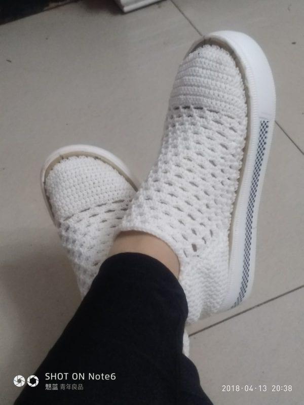 Yeni Örgü Ayakkabı Modelleri 4
