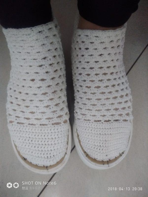 Yeni Örgü Ayakkabı Modelleri 5