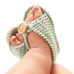 Anlatımlı Bebek Sandalet Yapımı 11