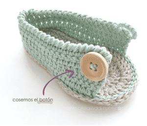 Anlatımlı Bebek Sandalet Yapımı 16