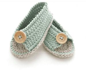 Anlatımlı Bebek Sandalet Yapımı 17