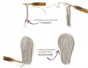 Anlatımlı Bebek Sandalet Yapımı 2