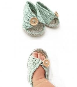 Anlatımlı Bebek Sandalet Yapımı 5