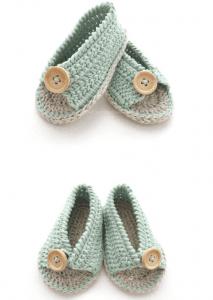 Anlatımlı Bebek Sandalet Yapımı 7