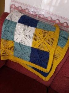 Battaniye Örgü Modelleri Anlatımlı 2