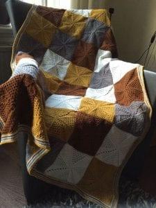 Battaniye Örgü Modelleri Anlatımlı 3