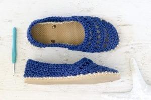 Bayan Örgü Ayakkabı Modelleri 9
