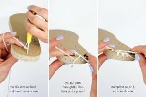 Bayan Örgü Ayakkabı Modelleri 11