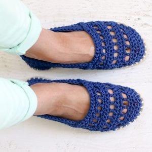 Bayan Örgü Ayakkabı Modelleri 14