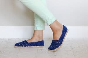 Bayan Örgü Ayakkabı Modelleri 6