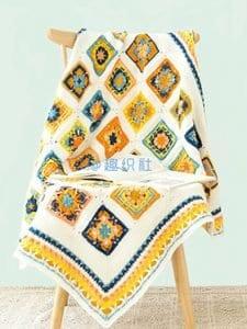 Bebek Örgü Battaniye Modelleri 15