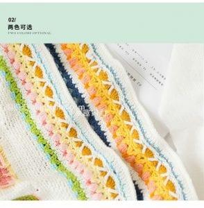 Bebek Örgü Battaniye Modelleri 16