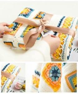 Bebek Örgü Battaniye Modelleri 7