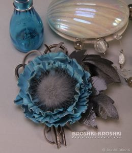Deri Çiçek Yapımı 24