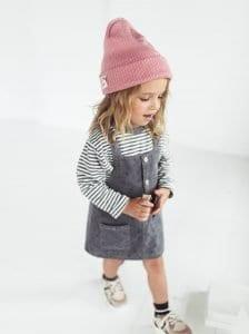 Kız Çocuk Kadife Elbise Dikimi 2