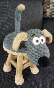 Köpek Tabure Kılıfı Yapımı