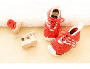 Örgü Ayakkabı Patik 2