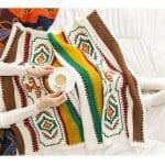 Örgü Bebek Battaniye Modelleri 4