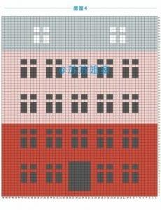 Renkli Evler Battaniye Yapılışı 9