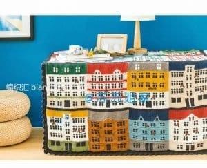 Renkli Evler Battaniye Yapılışı 11