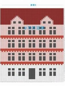 Renkli Evler Battaniye Yapılışı 13