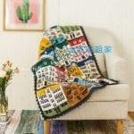 Renkli Evler Battaniye Yapılışı 21
