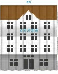 Renkli Evler Battaniye Yapılışı 22