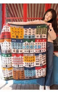 Renkli Evler Battaniye Yapılışı 2
