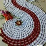 Spiral Dantel Runner Yapımı 15