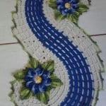 Spiral Dantel Runner Yapımı 7