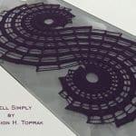 Spiral Dantel Runner Yapımı 8