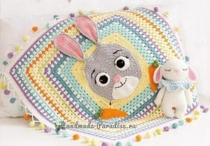 Tavşan Battaniye Yapılışı