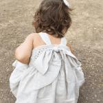 Üstü Örgü Altı Kumaş Elbise Modelleri 9