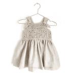 Üstü Örgü Altı Kumaş Elbise Modelleri 12