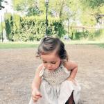Üstü Örgü Altı Kumaş Elbise Modelleri 14