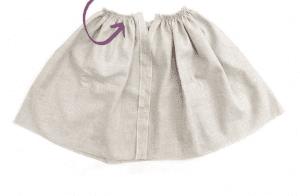 Üstü Örgü Altı Kumaş Elbise Modelleri 24