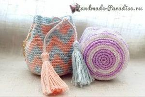 Amigurumi Bebek Çanta Yapımı