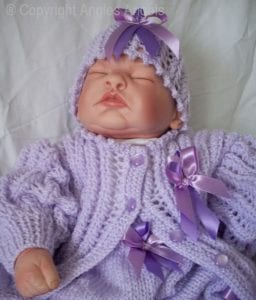 El Örgüsü Bebek Hırka Modelleri 1