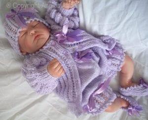 El Örgüsü Bebek Hırka Modelleri 2