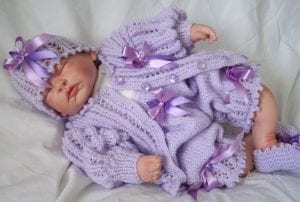 El Örgüsü Bebek Hırka Modelleri