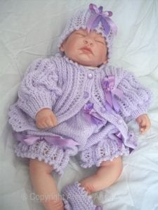 El Örgüsü Bebek Hırka Modelleri 3